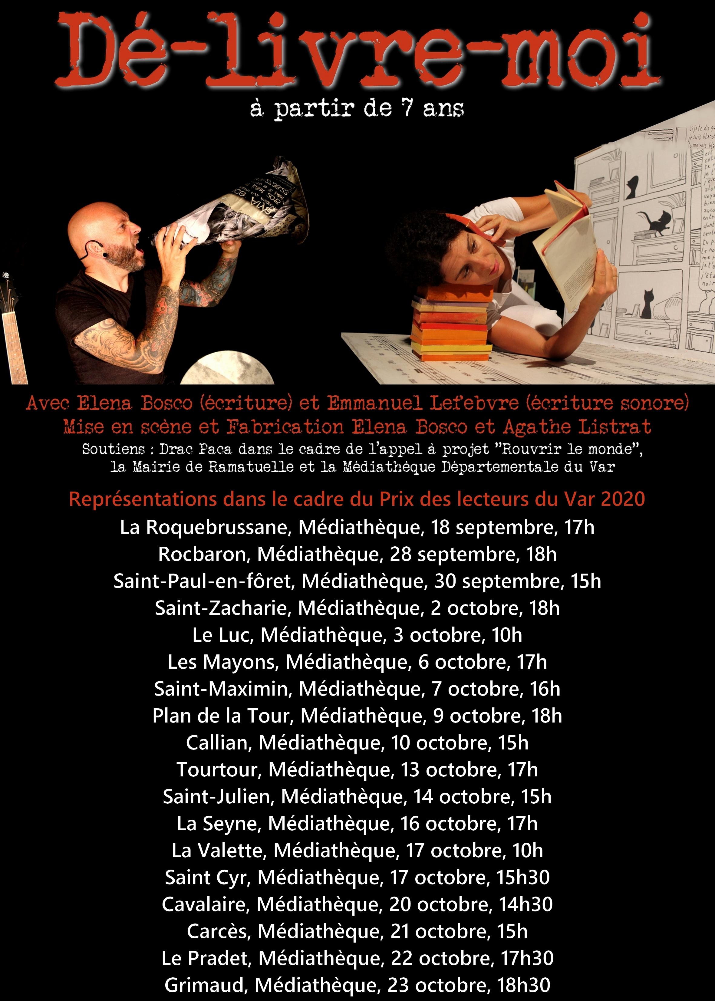 affiche dé-livre-moi + dates tournées new +